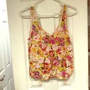 Light and Airy Flower Top